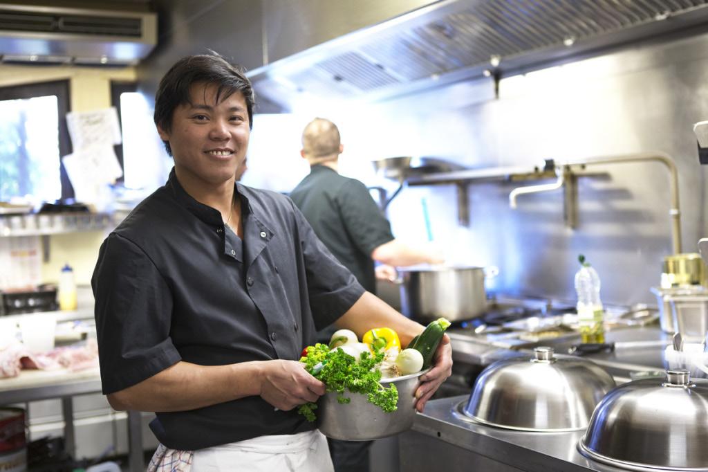 Dat Le Duy, le chef du restaurant